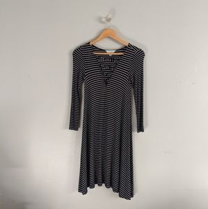 American Eagle Soft & Sexy Dress Striped